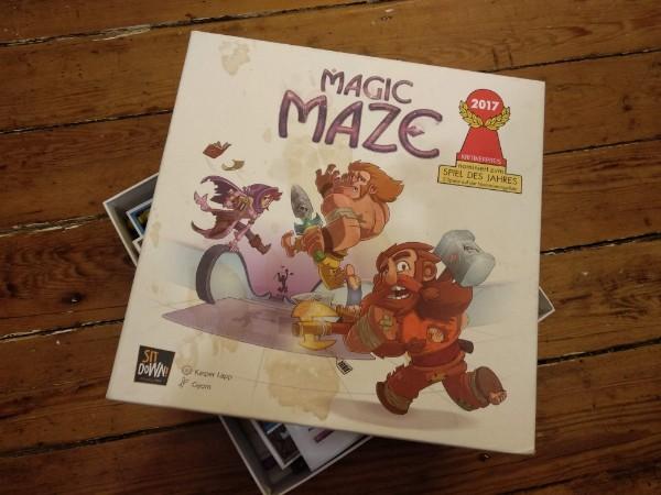 Boîte du jeu Magic Maze