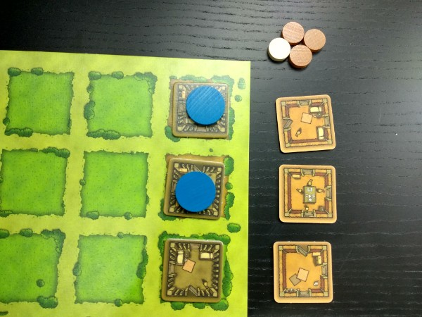 Coût d'une rénovation de pièces dans le jeu Agricola