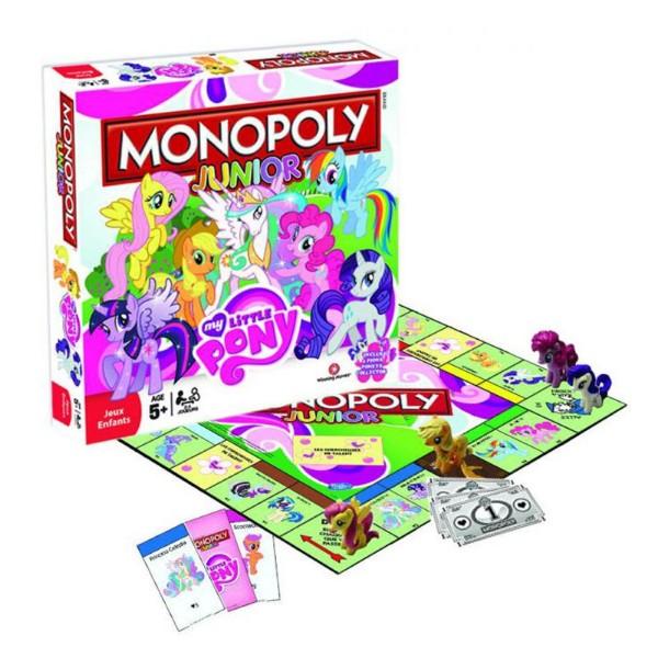 Jeu et plateau du Monopoly Junior My Little Pony