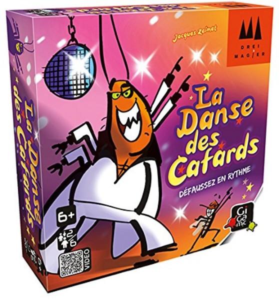 Boîte du jeu La Danse des Cafards