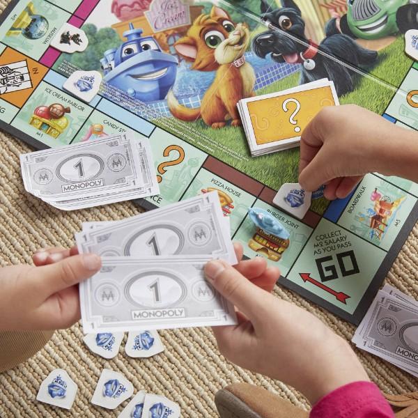 Plateau du jeu Monopoly Junior