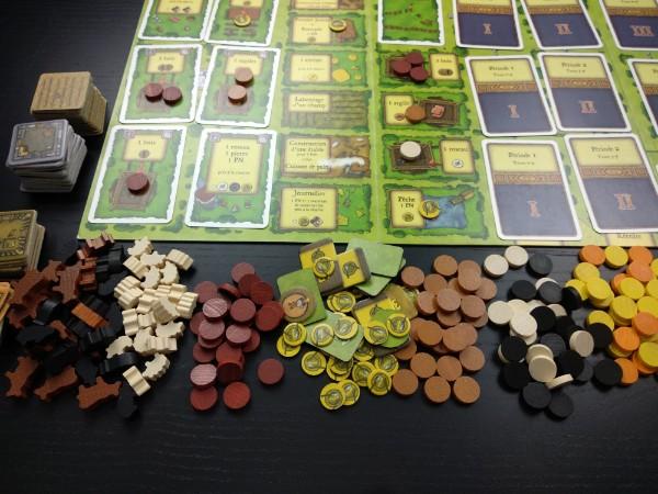 Plateau du jeu Agricola