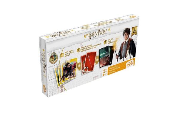 3 jeux de cartes Harry Potter en une seule boîte