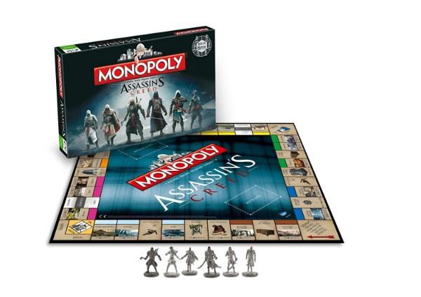 Le Monopoly sur le thème d'Assassin's Creed