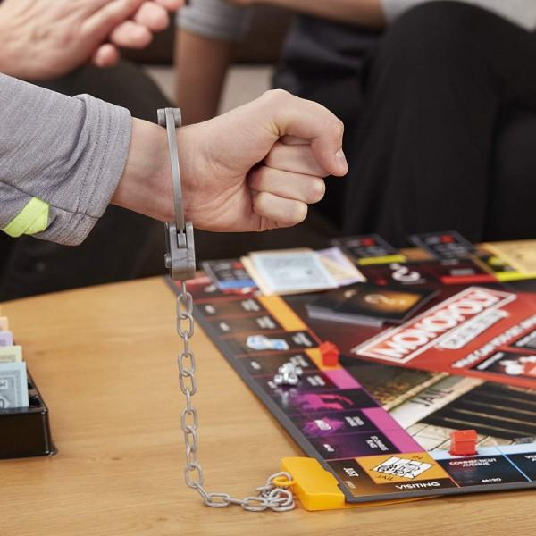 Monopoly Editions Tricheurs avec les menottes pour aller en prison