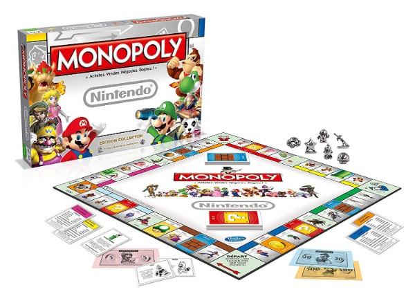 Monopoly sur le thème de Nintendo