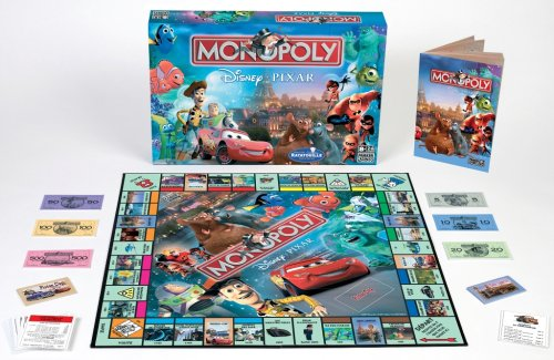 Monopoly sur le thème de Pixar
