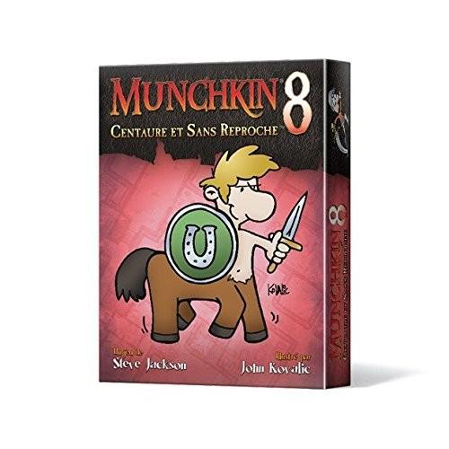 Extension 8 du jeu Munchkin : Centaure et Sans Reproche