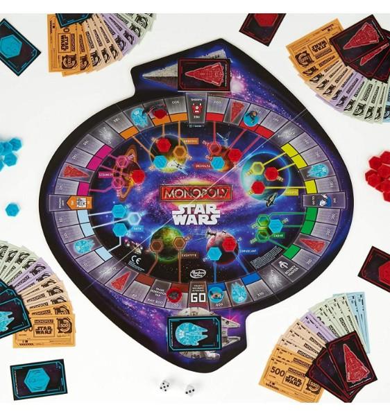 Plateau du Monopoly Star Wars le Réveil de la Force