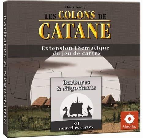 """Extension du jeu Les Colons de Catane pour 2 joueurs """"Barbares & Négociants"""""""