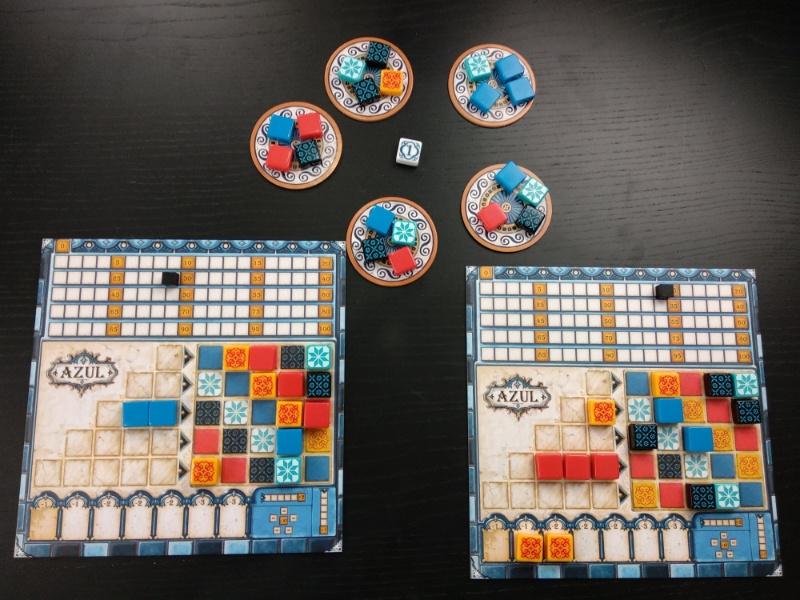 Azul le jeu